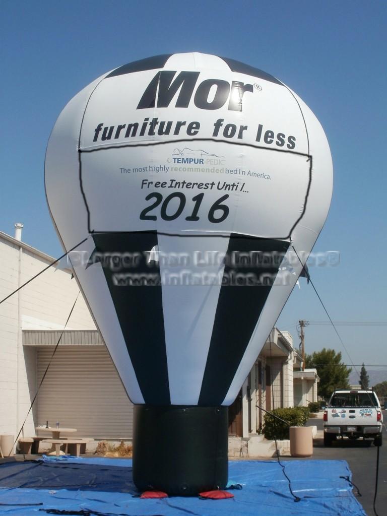 MOR Furniture Inflatable Hot Air Balloon shape